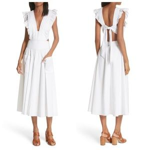 Rebecca Taylor La Vie Cotton Poplin Dress